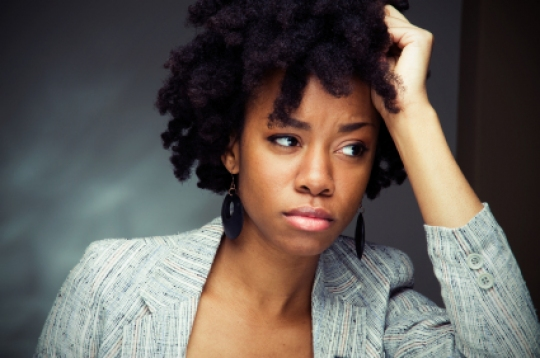 Image result for African woman worry